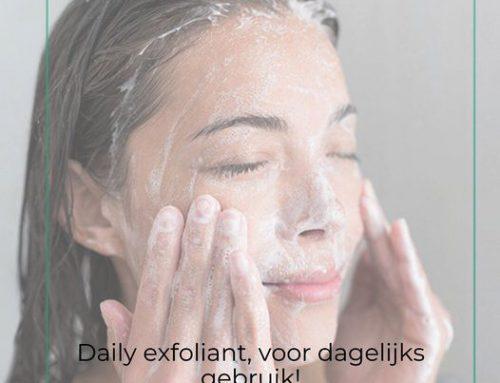 Daily exfoliant | voor dagelijks gebruik!